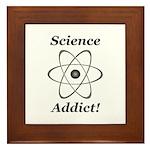 Science Addict Framed Tile