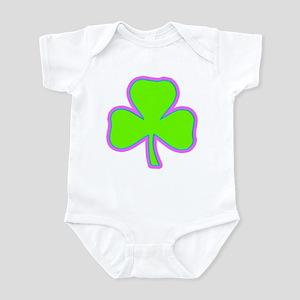 Irish Lucky Shamrock Infant Bodysuit