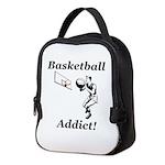 Basketball Addict Neoprene Lunch Bag