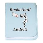 Basketball Addict baby blanket