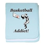 Basketball Addict baby blanket