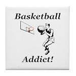 Basketball Addict Tile Coaster