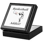Basketball Addict Keepsake Box