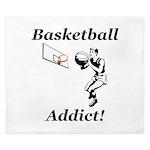 Basketball Addict King Duvet