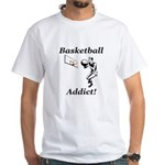Basketball Addict White T-Shirt