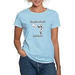 Basketball Addict Women's Light T-Shirt