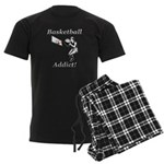 Basketball Addict Men's Dark Pajamas