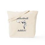 Basketball Addict Tote Bag