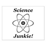 Science Junkie Small Poster