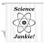 Science Junkie Shower Curtain