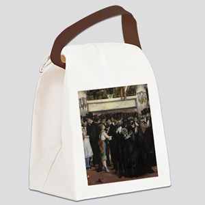 Edouard Manet - Masked Ball at th Canvas Lunch Bag