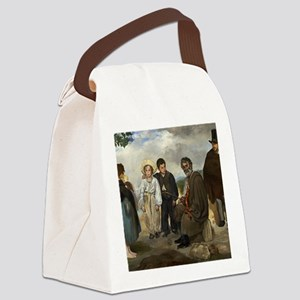Edouard Manet - The Old Musician Canvas Lunch Bag