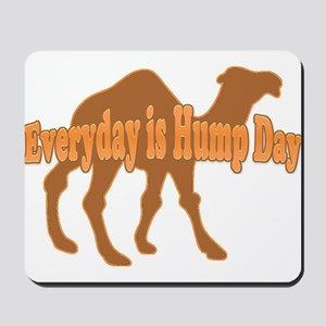 Hump Day Everyday is Hump day Mousepad