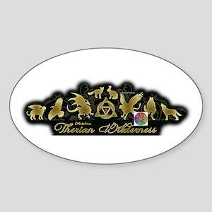 Therian Otherkin Sticker