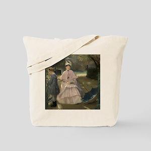 Eva Gonzales - Nanny and Child Tote Bag