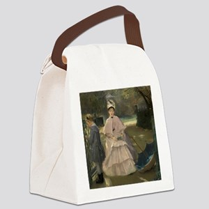 Eva Gonzales - Nanny and Child Canvas Lunch Bag