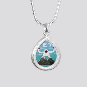 Yeti Silver Teardrop Necklace
