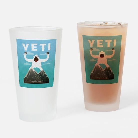 Yeti Drinking Glass