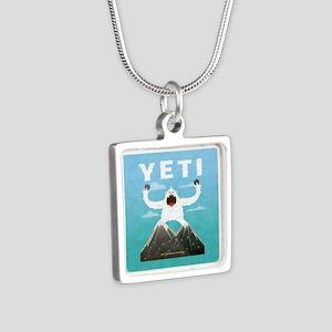 Yeti Silver Square Necklace