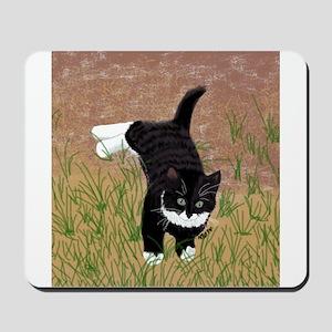Mustache Kitten Mousepad