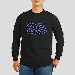 23 Long Sleeve Dark T-Shirt