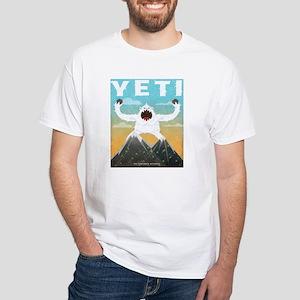 Yeti White T-Shirt