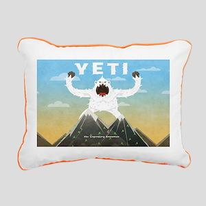 Yeti Rectangular Canvas Pillow