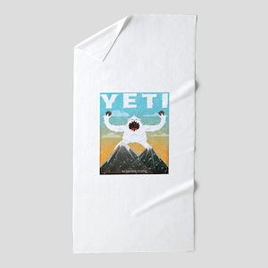 Yeti Beach Towel
