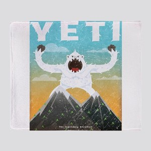 Yeti Throw Blanket