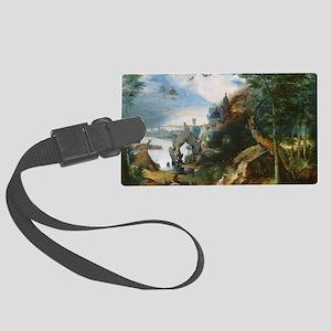 The Temptation of Saint Anthony Large Luggage Tag