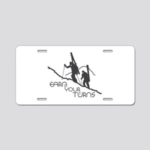 Ear Your Turns Aluminum License Plate