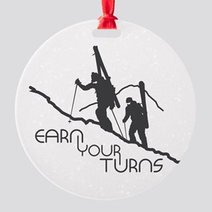 Ear Your Turns Round Ornament