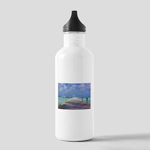 Rum Point Pier Water Bottle
