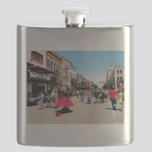 A Taste of New Orleans Flask