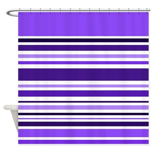 Royal Purple Shower Curtains
