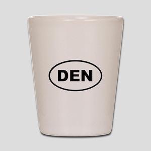 DEN Denver Shot Glass