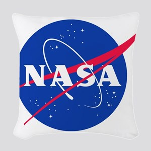 NASA Woven Throw Pillow