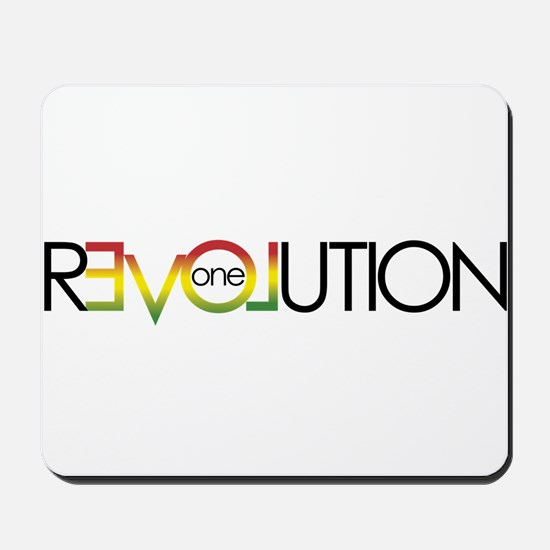 One Love revolution 5 Mousepad