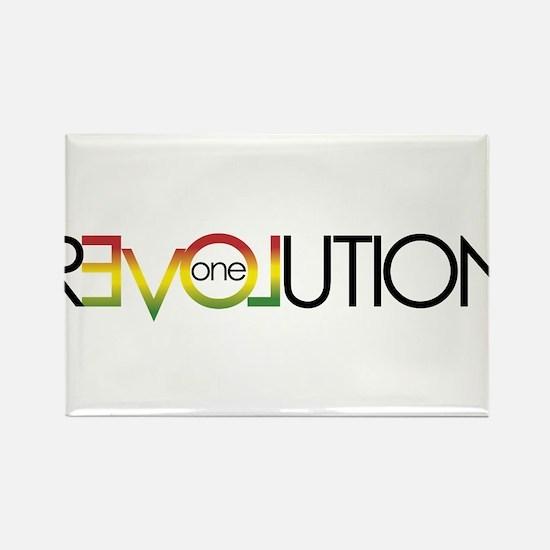 One Love revolution 5 Magnets