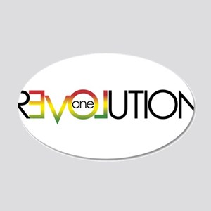 One Love revolution 5 Wall Decal