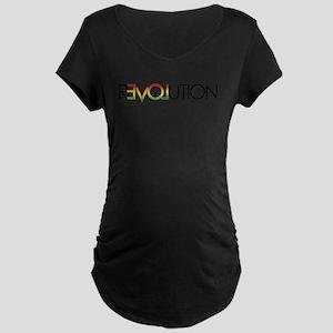 One Love revolution 5 Maternity T-Shirt
