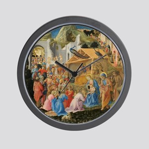 The Adoration of the Magi Wall Clock