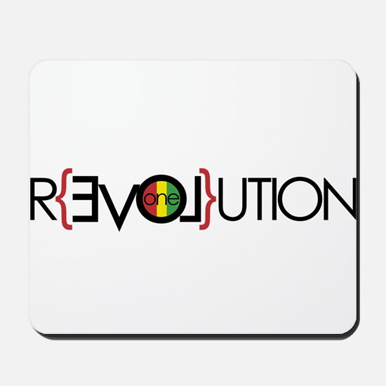 One Love Revolution 6 Mousepad