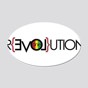 One Love Revolution 6 Wall Decal