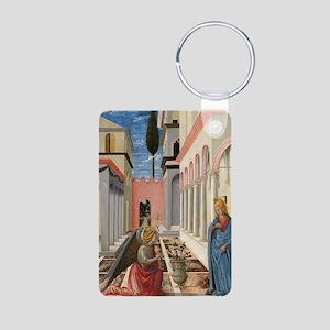 Fra Carnevale - The Annunc Aluminum Photo Keychain