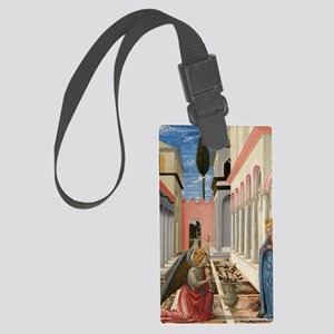 Fra Carnevale - The Annunciation Large Luggage Tag