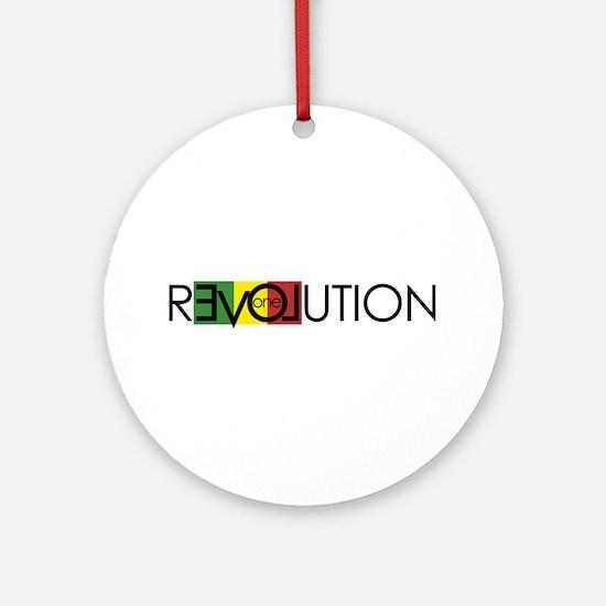 One Love Revolution 7 Ornament (Round)