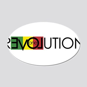 One Love Revolution 7 Wall Decal