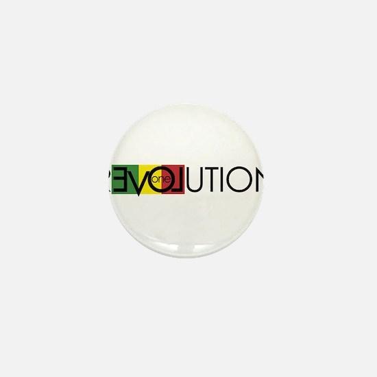 One Love Revolution 7 Mini Button