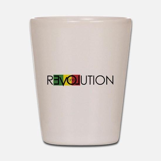 One Love Revolution 7 Shot Glass
